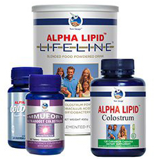 Alpha Lipid Australia - Colostrum Family of products