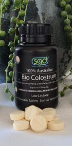 Bio Colostrum Low Lactose Chewables Tables Alpha Lipid Australia